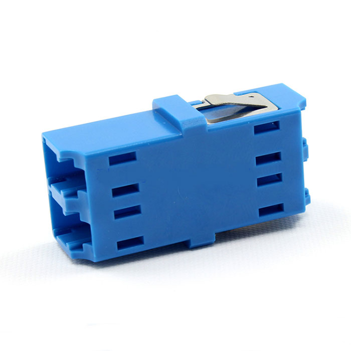 LC Integrated Type Singal Double Core Fiber Optic Adapter