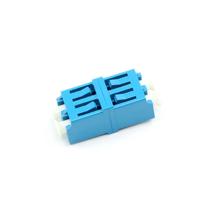 Symmetric Type Singal Mode Double Core Plastic Fiber Optic Adapter