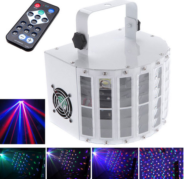 LED 6 Channels DMX512 Automatic Control Lighting Laser Projector Stage Party Show Disco Stage Light Dj Controller