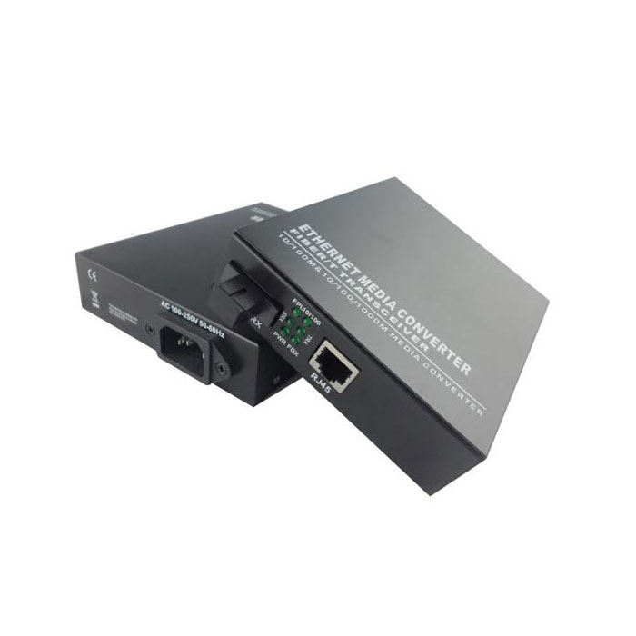 100M Single Fiber Media Converter SC Bidirectional Transceiver