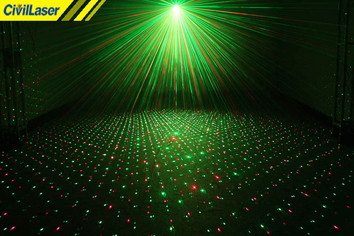 small laser stage lighting